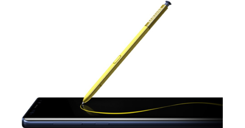 S Pen del Galaxy Note 9