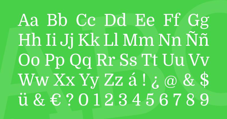 Tipografía Domine