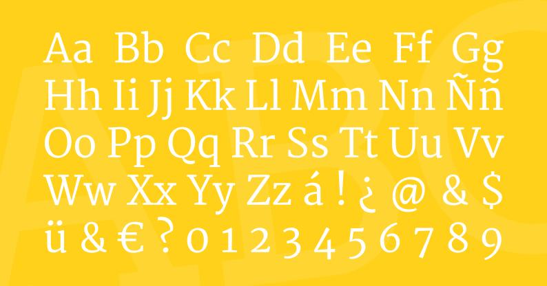 Tipografía Merriweather