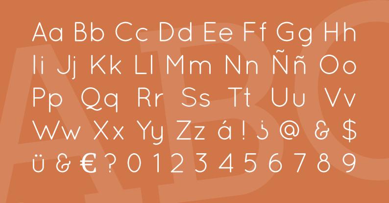 Tipografía Quicksand