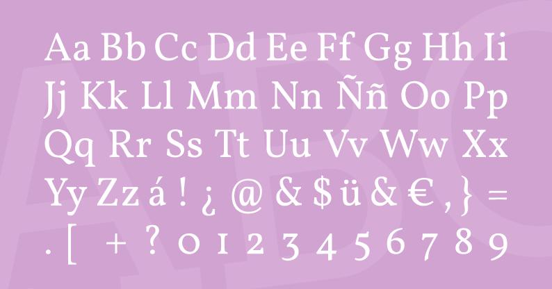 Tipografía Verdana