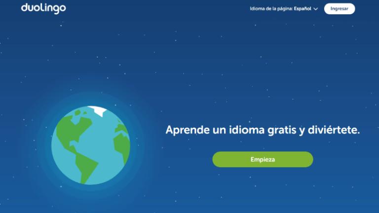 las mejores aplicaciones para aprender inglés duolingo